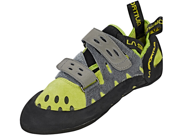 La Sportiva Tarantula Climbing Shoes Men Kiwi/Grey